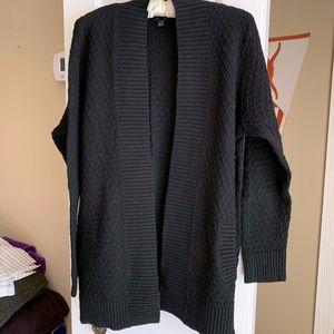 TALBOTS Block Pocketed Cardigan Size L